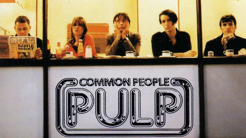 "Illustration for article titled Pulp's ""Common People"" correctly named the best Britpop song"