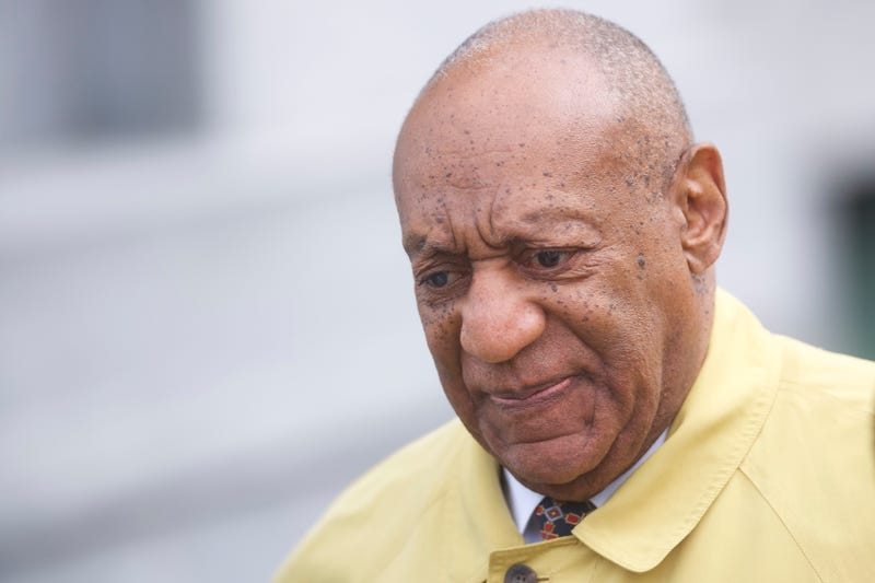 Bill Cosby departs the Montgomery County Courthouse after jury selection in his sexual assault retrial April 2, 2018, in Norristown, Pa.
