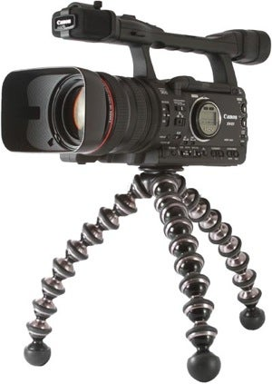 Illustration for article titled Gorillapod Focus Is Muscled-Up Bendy Tripod for Hefty Cameras