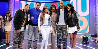The cast of BET's The Game (Jon Ricard/Getty Images)