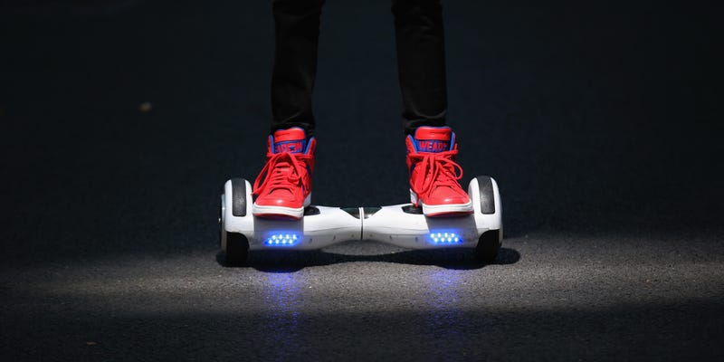 Illustration for article titled Hoverboards Are Illegal in NYC, Still Should Not Be Called Hoverboards