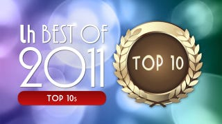 Illustration for article titled Most Popular Top 10s of 2011