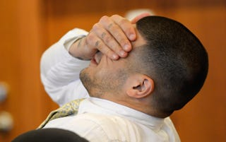 Illustration for article titled No, Aaron Hernandez Wasn't Found Not Guilty