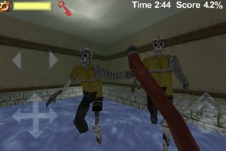 Illustration for article titled Zombie Mansion iPhone Shooter Getting Trial By App Store