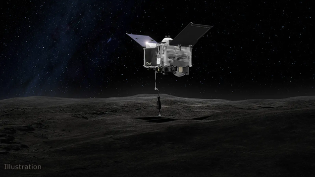 NASA's OSIRIS-REx Spacecraft Is Racing Back to Earth With a Scoop of Asteroid