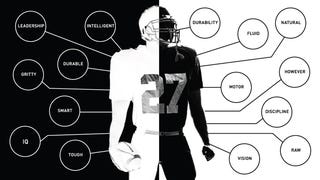 Illustration for article titled Which Words Are Used To Describe White And Black NFL Prospects?
