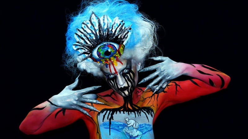 Illustration for article titled Phantasmagoric body art from this year's World Bodypainting Festival