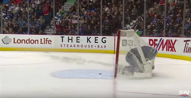 Vancouver Canucks Score On Themselves
