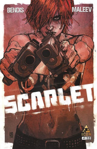 Illustration for article titled Bendis' and Maleev's Comic Book SeriesScarlet picked up by Cinemax