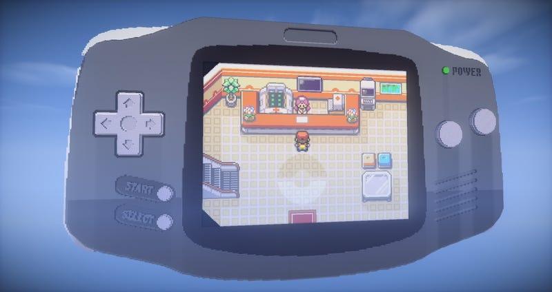 Illustration for article titled Un genio de Minecraft crea un mapa con el que se puede jugar a Pokémon sin trucos ni mods