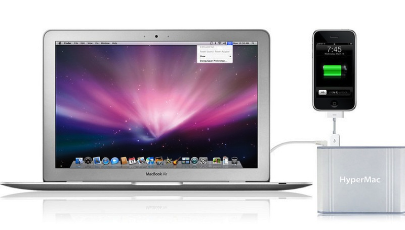 Illustration for article titled HyperMac External Battery Gives MacBooks a 32 Hour Boost