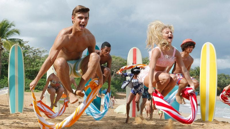 Illustration for article titled Disney greenlights that Teen Beach Movie sequel you've been breathlessly anticipating