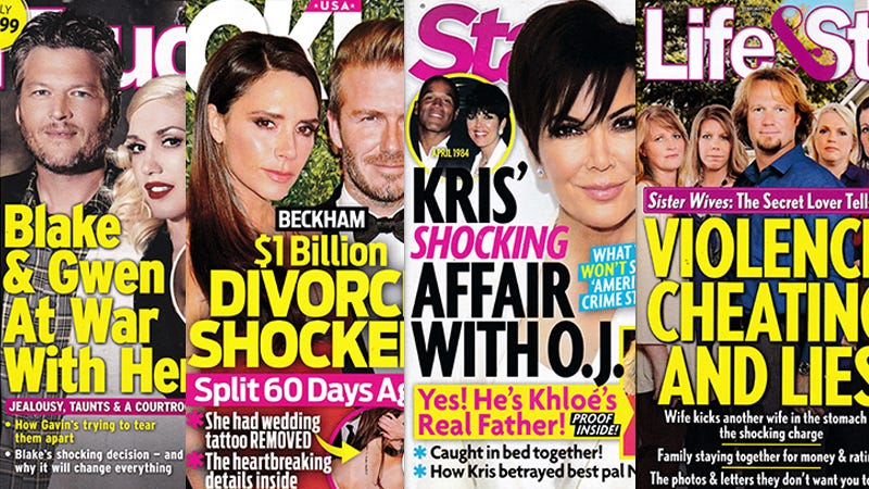 Illustration for article titled This Week In Tabloids: Star Has 'Proof' That O.J. Simpson Is Khloe Kardashian's Father