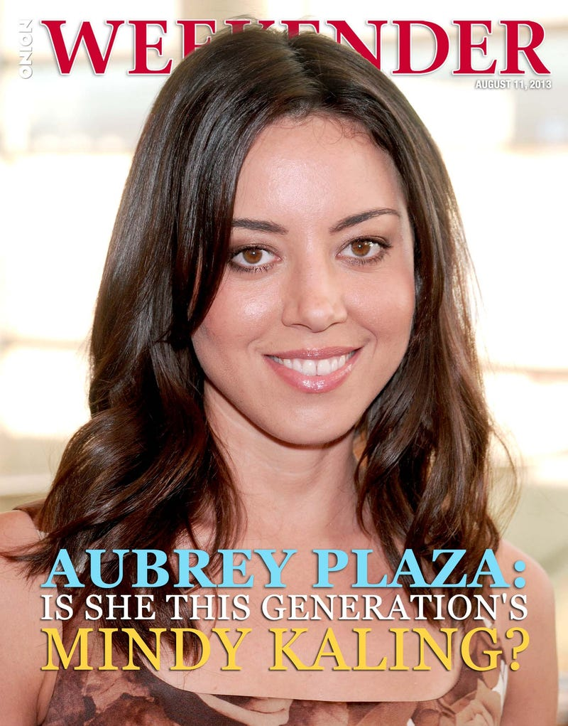 Illustration for article titled Aubrey Plaza: Is She This Generation's Mindy Kaling?