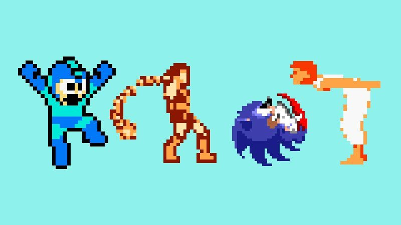 Illustration for article titled Fairies dancing on the screen: 4 classic video game sprites, reviewed