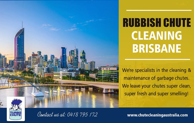 Illustration for article titled Rubbish Chute Cleaning Brisbane