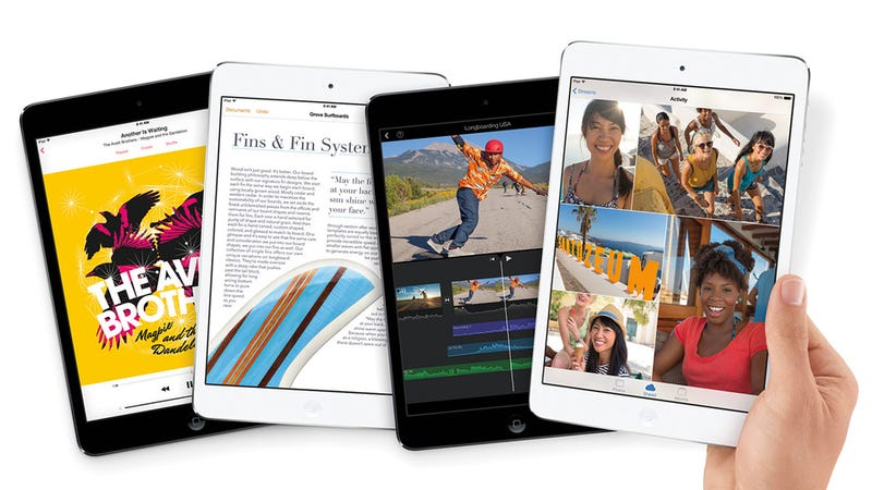 Illustration for article titled iPad Mini with retina display, or iPad Air?
