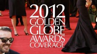 Illustration for article titled Golden Globes splash