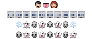 Illustration for article titled Game of Thrones recapped with emojis is actually pretty damn good
