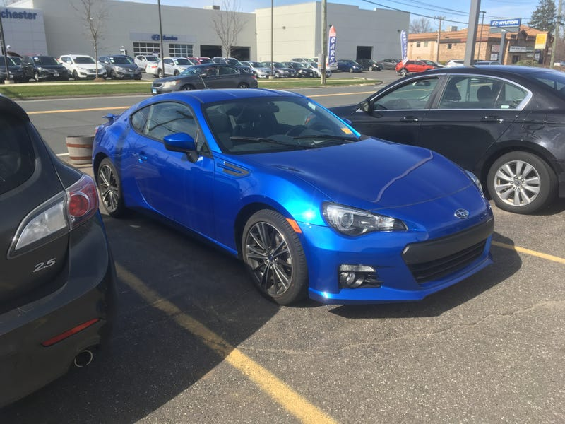 Illustration for article titled Just test drove a BRZ