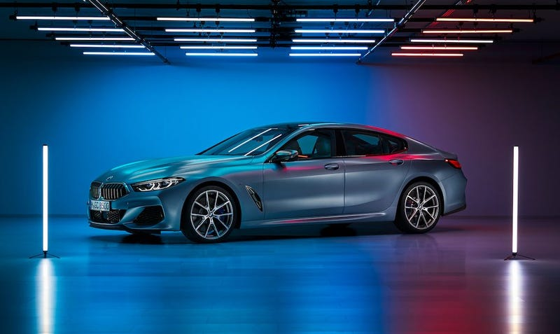 Illustration for article titled BMW 8 Series Gran Coupe Leaked Inside and Out