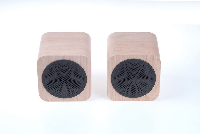 Illustration for article titled $20 off! AVWOO Brand Mini Wooden Bluetooth Speaker