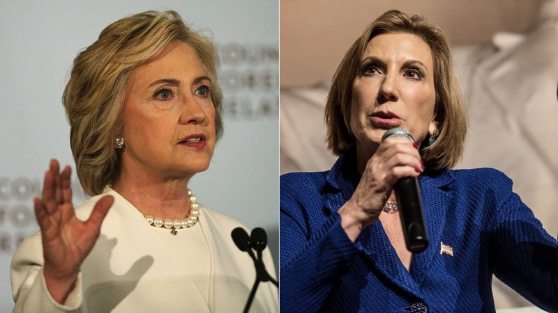 Illustration for article titled Confused Rich People Are Backing Both Clinton and Fiorina, Because What's the Diff?