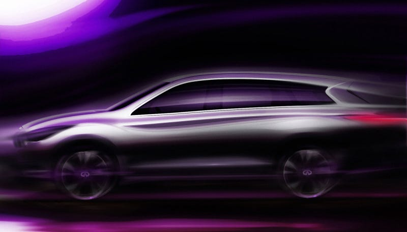 Illustration for article titled Infiniti JX is another blurry bloated crossover