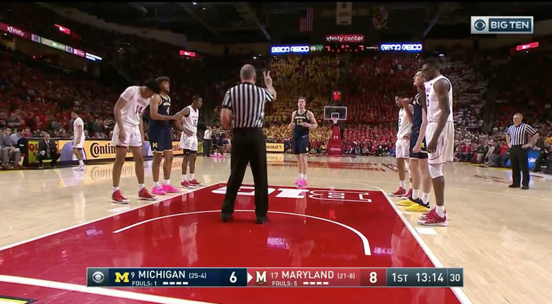 Illustration for article titled Mark Turgeon Implores Maryland Crowd To Stop Calling Michigan's Ignas Brazdeikis Ugly