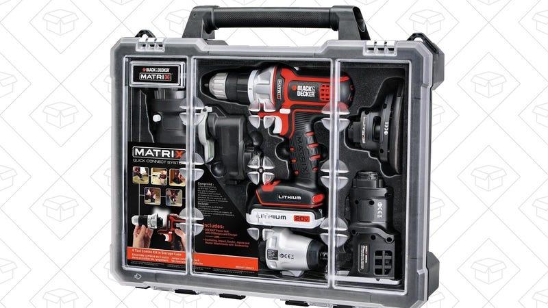 Black & Decker Matrix 6 Tool Combo Kit, $150