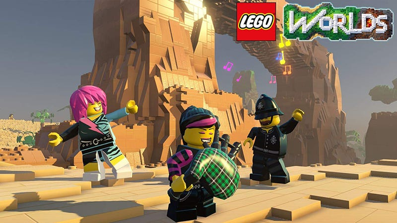 LEGO Worlds (Nintendo Switch) | $14 | Amazon | Clip coupon on page