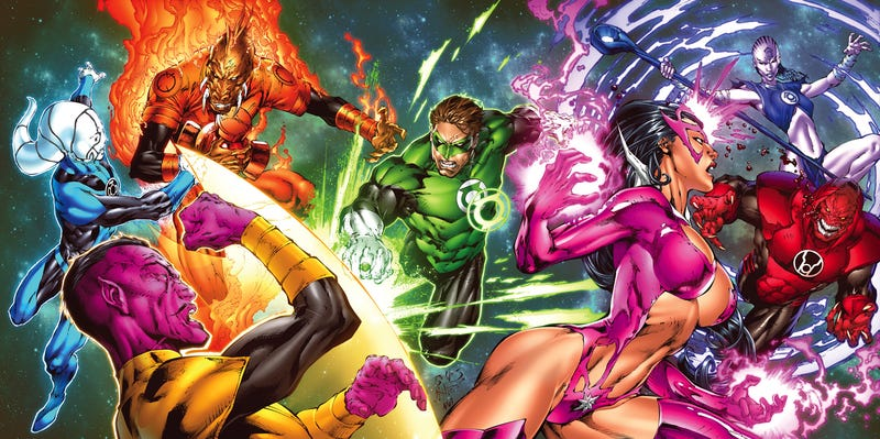 What Are The Different Lantern Corps And What Do They Want