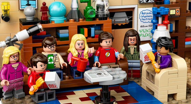 Illustration for article titled The Official Big Bang Theory LEGO Set Looks Awkwardly Cozy