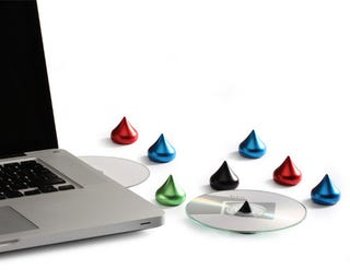 Illustration for article titled 'Hershey's Kisses' CD Holders Look Good Enough to Watch Someone Eat