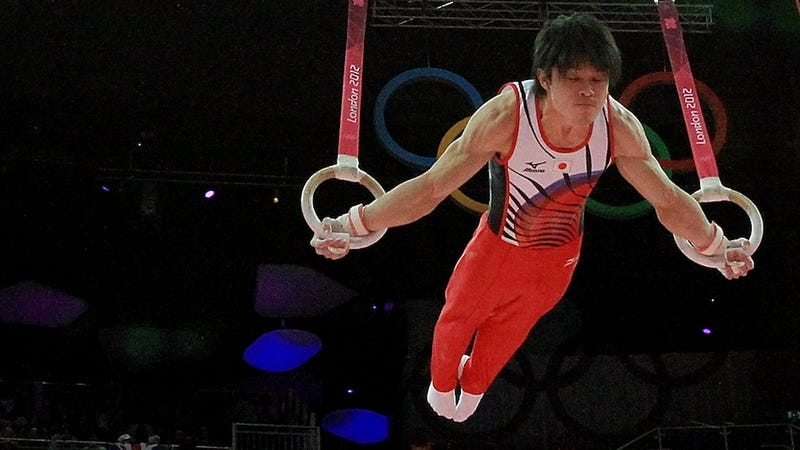 "Illustration for article titled Men's Gymnastics All-Around: Kohei ""Superman"" Uchimura Is Invincible"