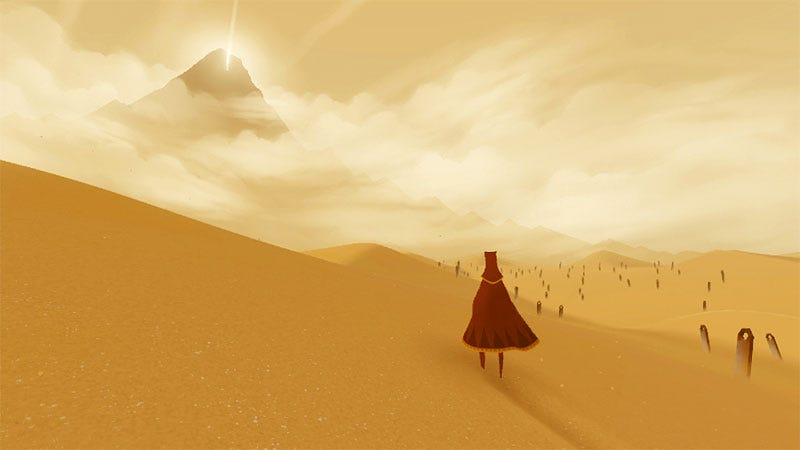 Illustration for article titled Journey, From The Creators Of flOw and Flower, Explained