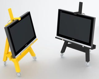 Illustration for article titled TV Easel is Not Just For Artsy Types