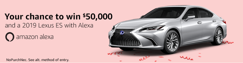 Illustration for article titled Anyone interested in a free 2019 Lexus ES?