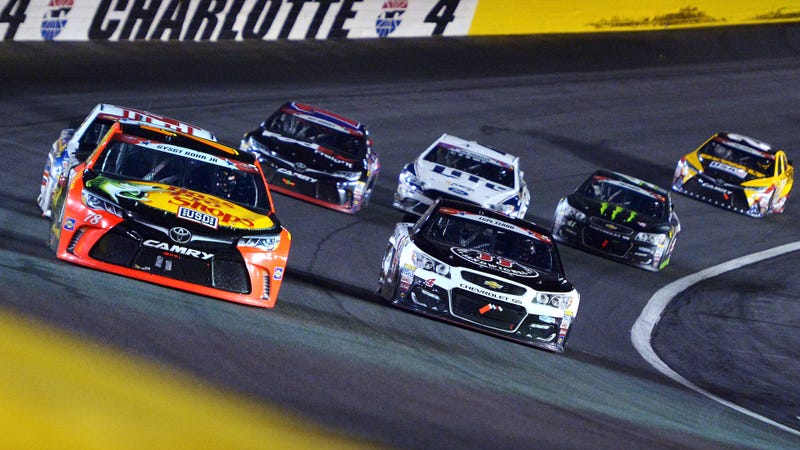 The 2016 Coca-Cola 600, before NASCAR went all sports-ball with things. Photo credit: Drew Hallowell/Getty Images