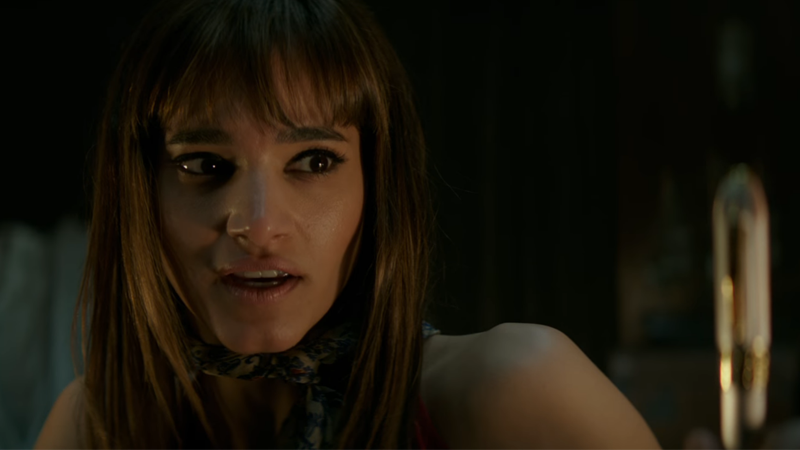 Sofia Boutella plays a deadly assassin in Hotel Artemis.