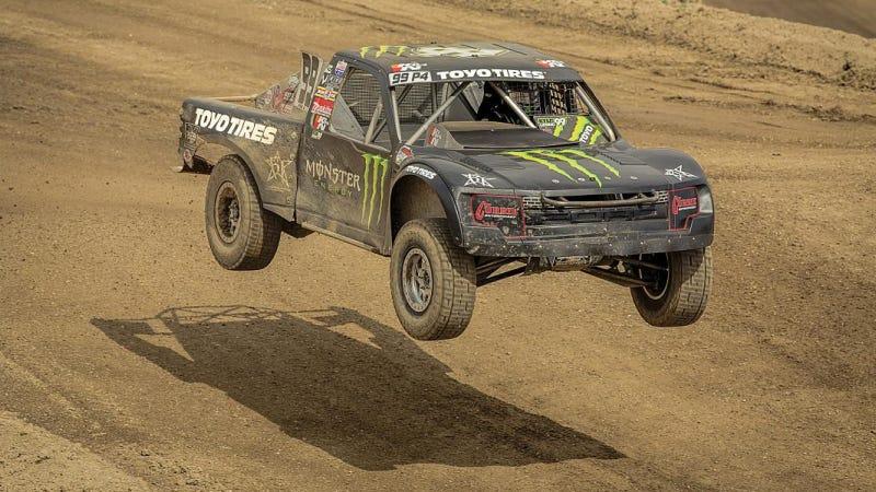 Illustration for article titled Kyle LeDuc Ties Carl Renezeder As Winningest Pro 4 Truck Racer Ever
