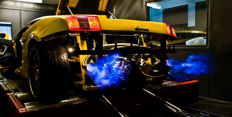 Illustration for article titled Fireballs: The Best Possible Outcome When Straight-Piping A Lambo