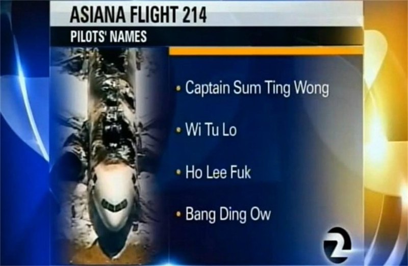 KTVU prank: Outrage as news station 'names' the pilots with ...