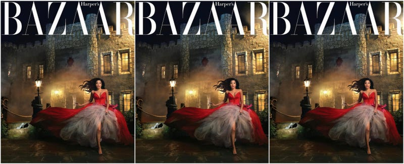 Illustration for article titled Cinderella Story: Cardi B Comes Full Circle for the Harper's Bazaar Spring Fashion Issue