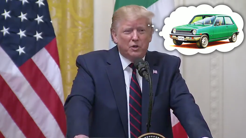 Illustration for article titled Someone Tell The President He Can't Actually Buy A New LeCar