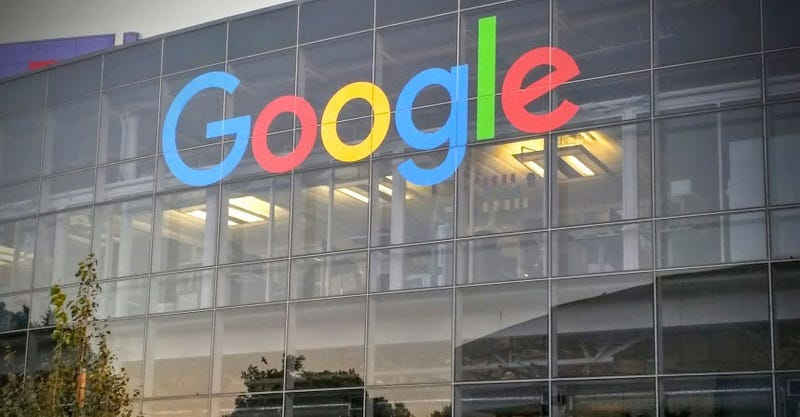 Illustration for article titled The Googleplex Is Already Sporting the New Logo