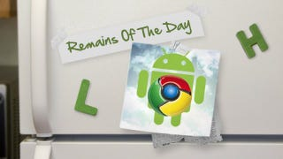 Illustration for article titled Remains of the Day: Chrome for Android Adds Desktop View, Proxy Support and More