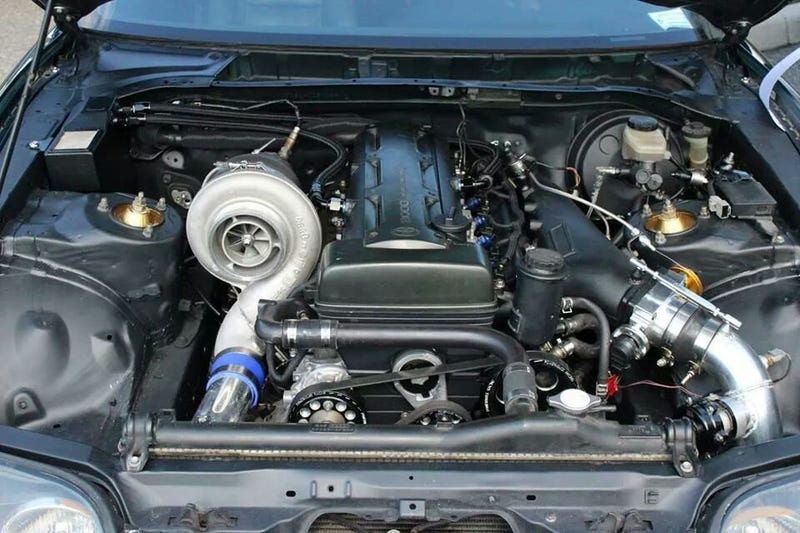 Illustration for article titled Would you like some engine with your turbo?
