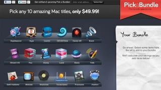 Illustration for article titled Pick a Bundle Lets You Choose 10 Mac Apps for $49.99