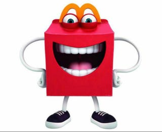 Illustration for article titled McDonald's New Mascot Will Haunt Your Nightmares